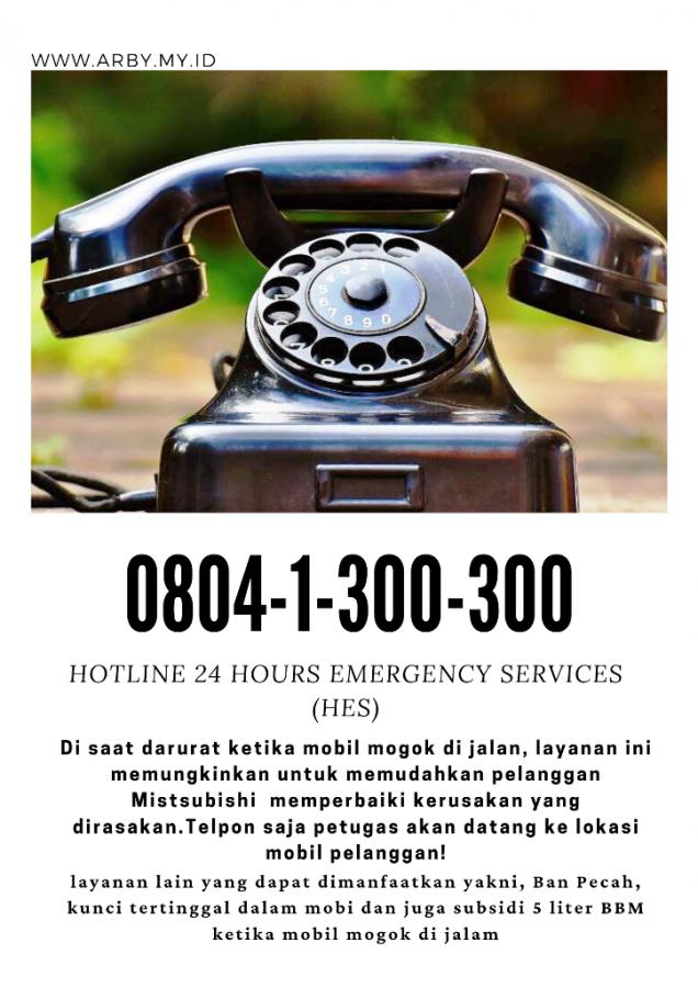 Hotline layanan Mitsubishi
